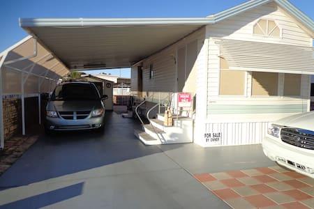 Park Model w/ Carport - Yuma