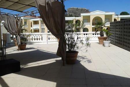 Beau studio 33 m2 terrasse 150 m2 - Le Cannet - Apartment