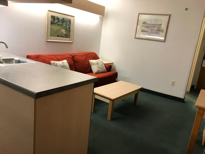 Suite with Kitchenette n Mariner's on Carlyle Lake