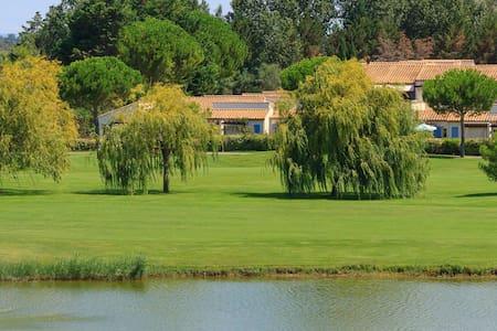 Maison vue golf avec piscine calme - La Grande-Motte - Hus