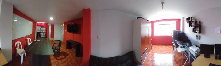 Habitación para tu estancia en Lima