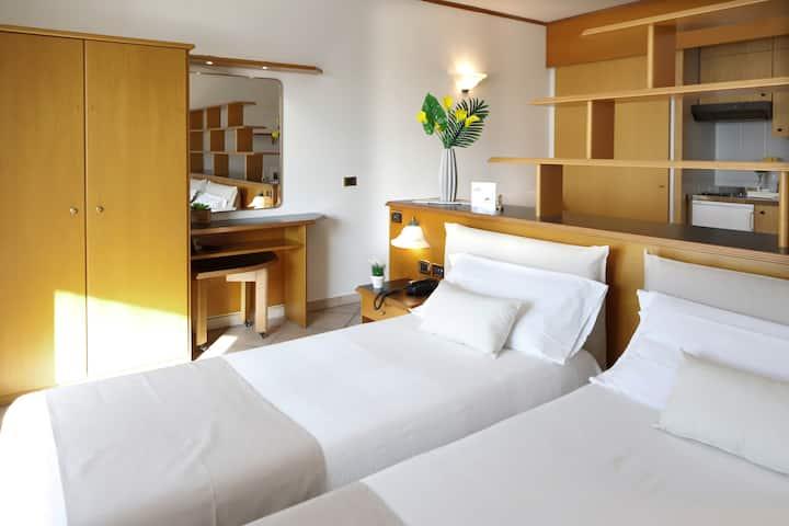 I confort di un albergo, la libertà di una casa