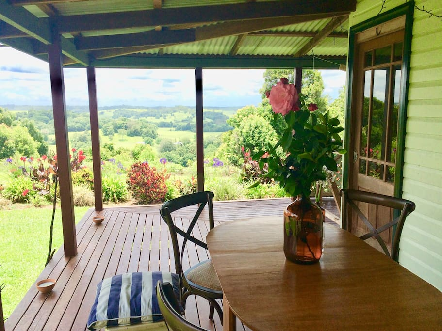 relax on the wide verandahs
