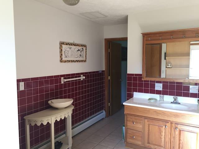 Bathroom / Entry Room