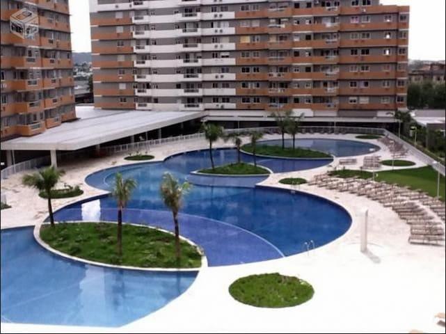 APARTAMENTO PRÓXIMO AO ESTÁDIO OLÍMPICO ENGENHÃO - Rio de Janeiro - Wohnung