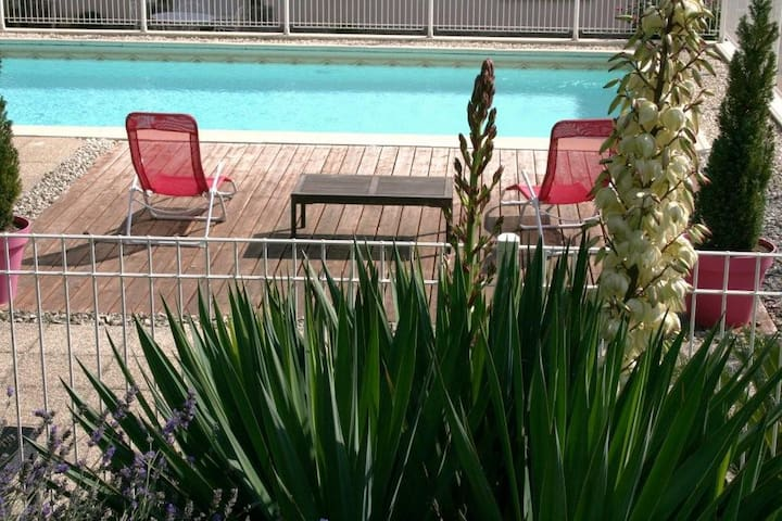 Un gîte avec piscine à 15 minutes du Puy du Fou