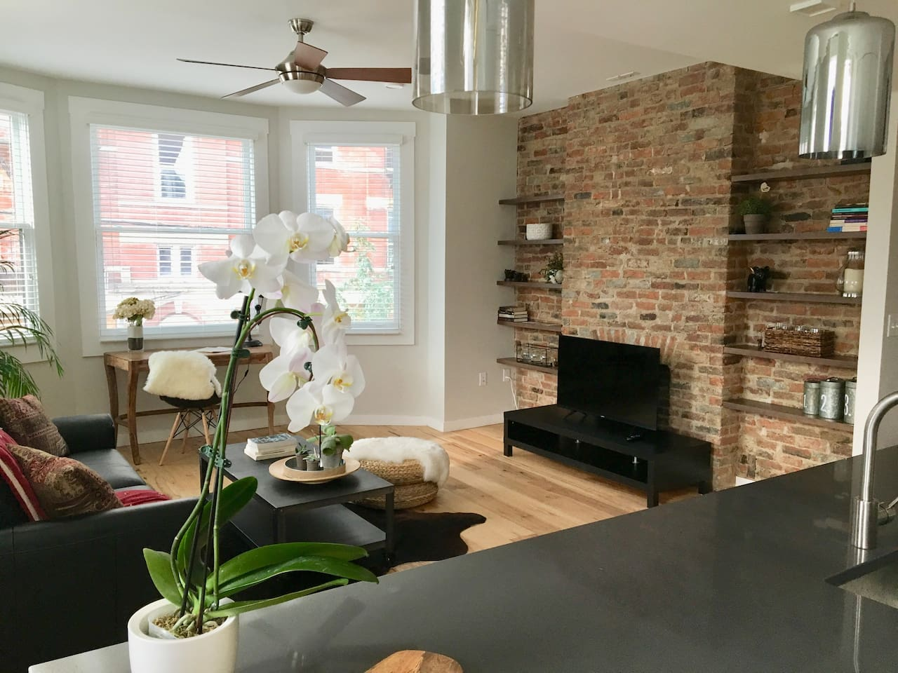 Newly Renovated Apt in Central OTR, Parking Pass!