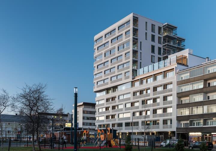New 6th floor Studio Apartment @ Marskinpuisto