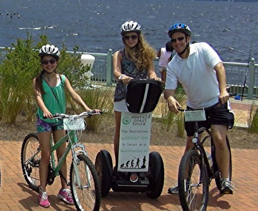 Head to old town for historic area segway tour