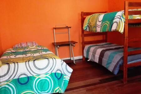 Habitacion cuadruple en sector turistico - 瓦爾帕萊索(Valparaíso) - 獨棟