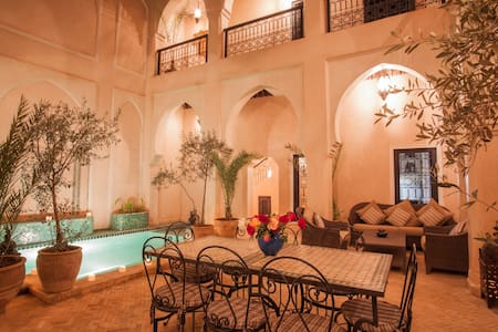 Maison Dana Marrakech (with full time cook + maid)