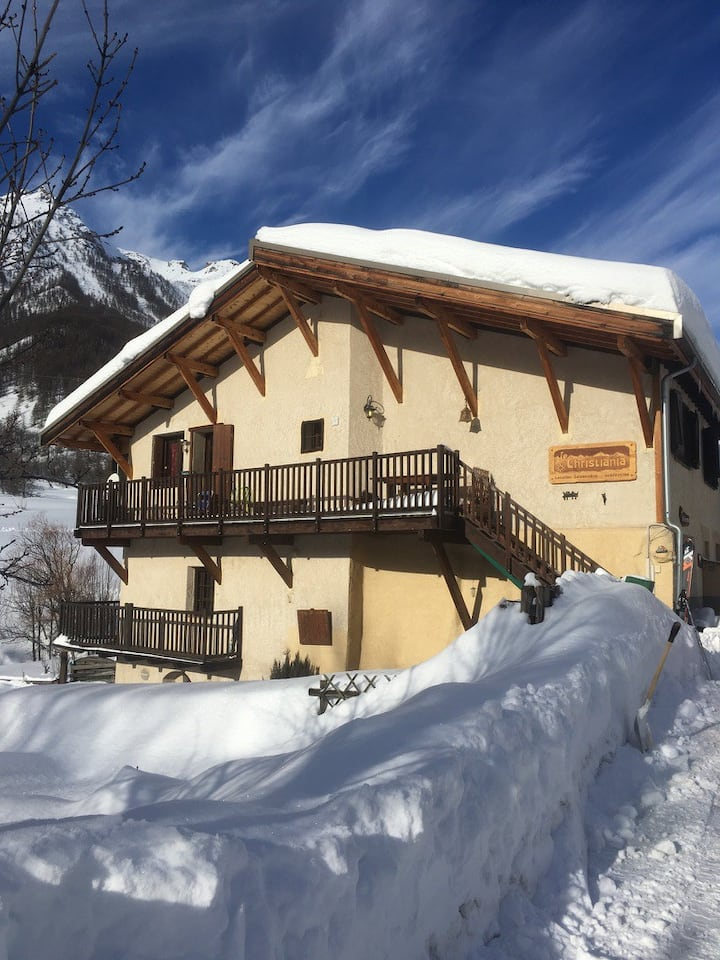 Serre Chevalier 1500 Studio Duplex Vue Top 2/4pers