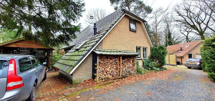 Heerlijk vrijstaand huis in bos