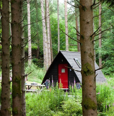 Farm Wigwam near Tyndrum