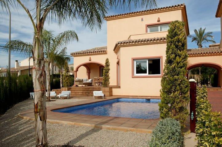 Beautiful Villa with private pool near Albir/Altea - La Nucia - วิลล่า