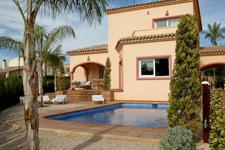 Beautiful Villa with private pool near Albir/Altea - La Nucia