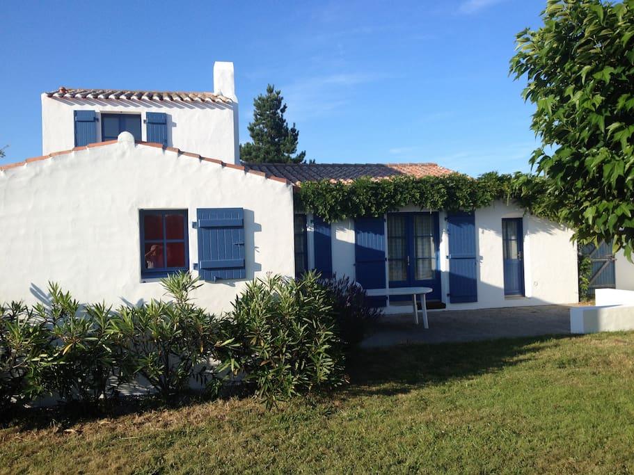 Charmante maison familiale cadou re maisons louer - Location maison ile yeu ...