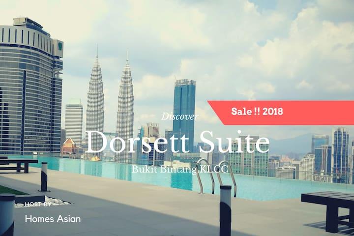 R78 Dorsett 2 bedroom with Bathtub Bukit Bintang