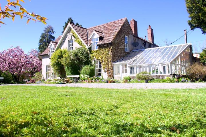 ☆ Secret Georgian Manor House ☆ Inspiring Gardens
