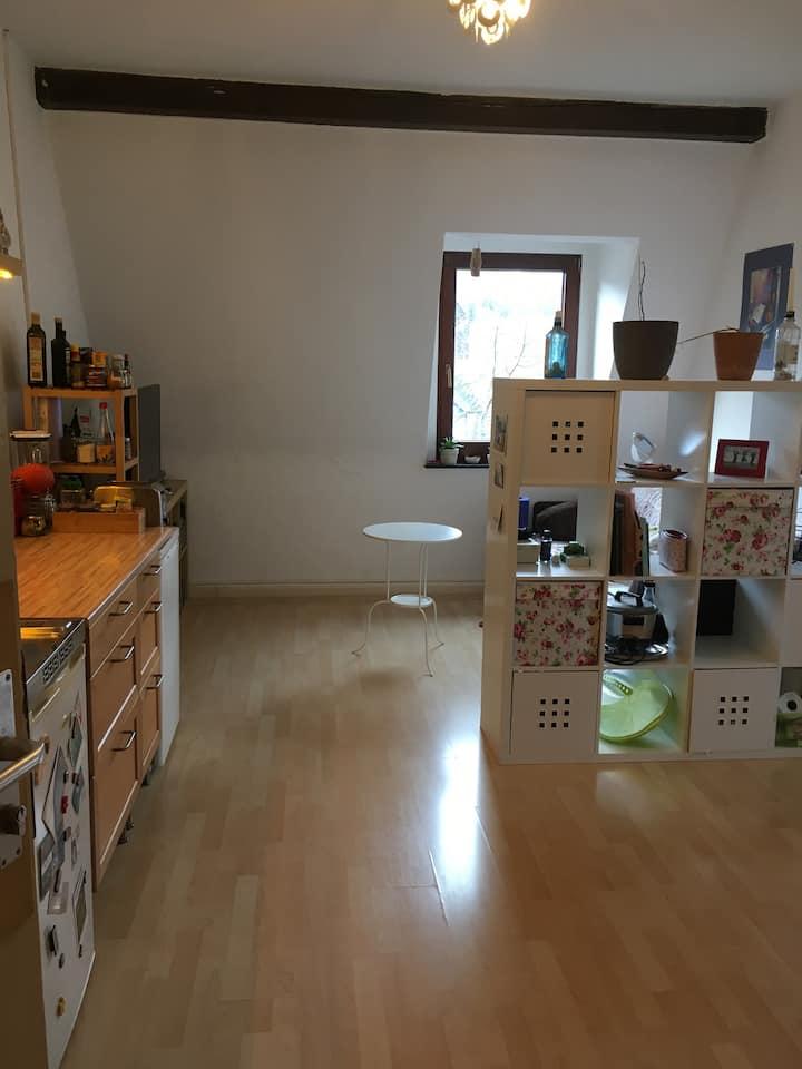Tolle Wohnung für Oktober im Herzen Marburgs