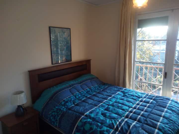 Habitación individual cama 2 plazas, Providencia