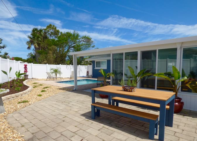 Colibri Cottage w/ Pool in Beachside Neighborhood - St. Augustine - Nyaraló