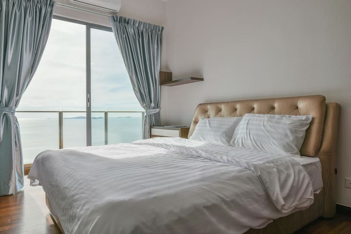 Silverscape,Seaview 2 Rooms, Malacca,WIFI,Netflix