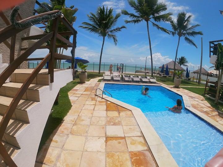 Oceano Azul - Beachfront ground floor apartment