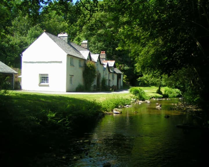 Waters Edge Cottage In Secluded Exmoor Valley