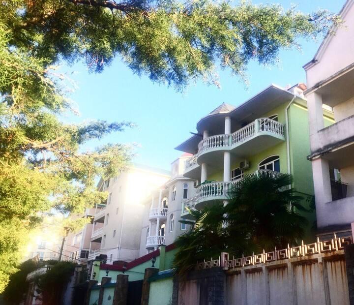 Апартаменты для двух человек с балконом (2 этаж)