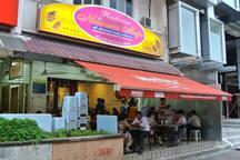 Where to eat - Nirvana Maju Indian Cuisine