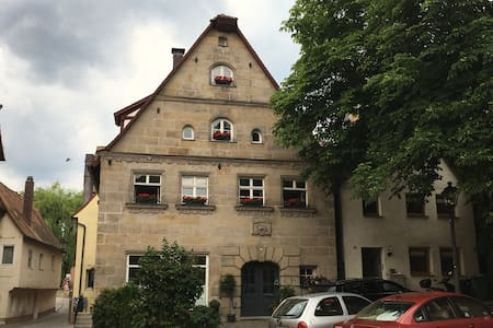 Gemütliche Galeriewohnung inmitten der Altstadt - Lauf an der Pegnitz - 公寓