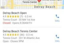 Tennis Nearby