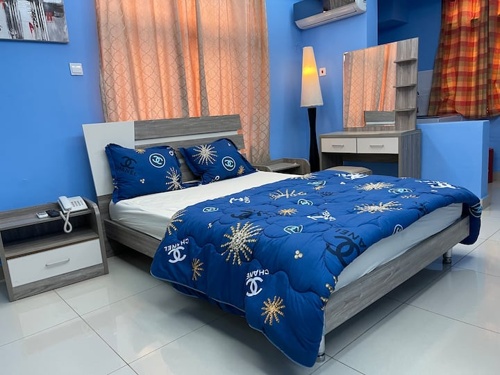 Furnished Studio Rooms Simply-Styled for Comfort