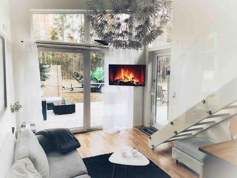Toda la casa en el hermoso archipiélago de Värmdö ~ Estocolmo