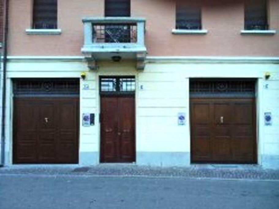 Ingresso principale Via Baluardi 47