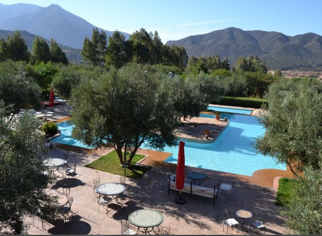 Rural Hotel in the Atlas Mountains