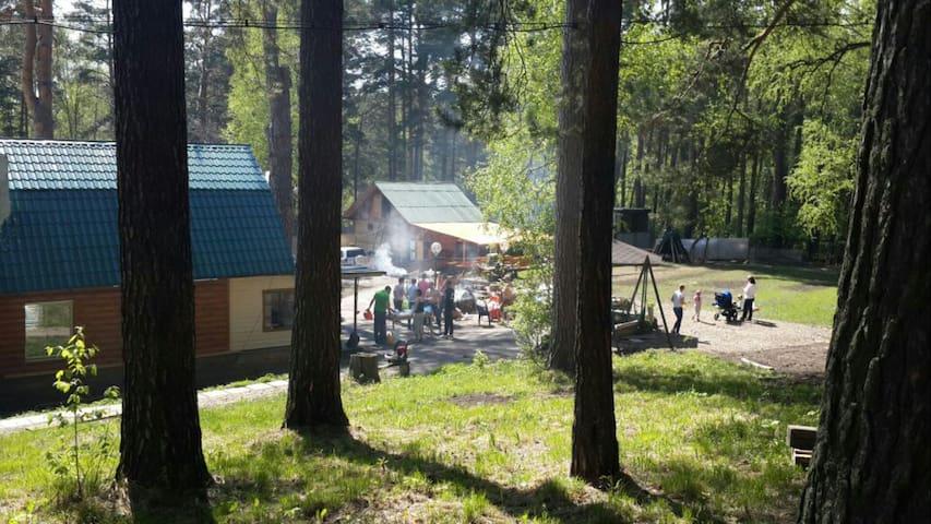 Дом для Отдыха в Реликтовом Лесу! - Томск - House