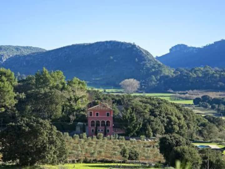 Espectacular villa con magnificas vistas