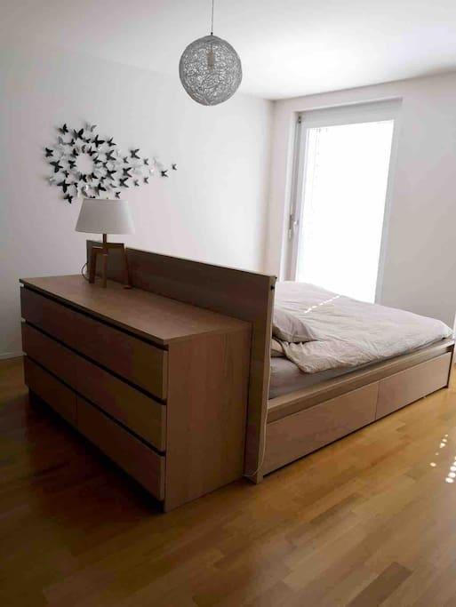 Votre chambre durant votre séjour.