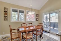 Dining room to deck