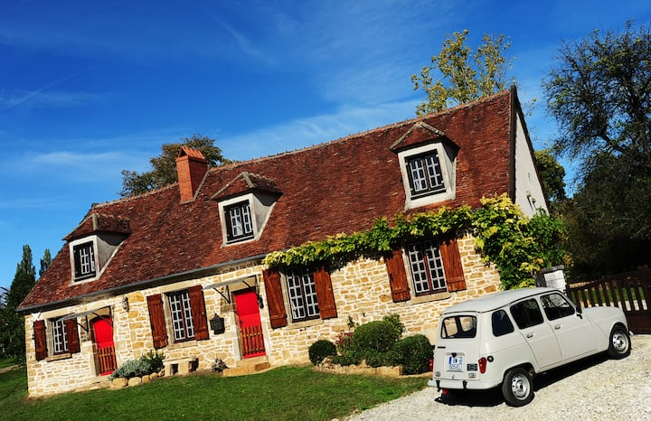Romantic cottage in Burgundy!