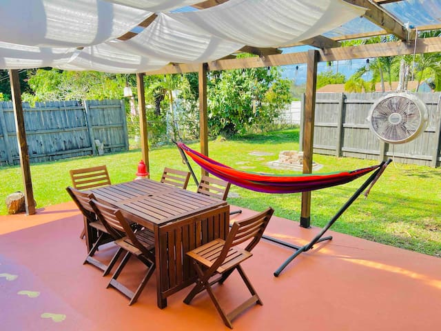 ECO-Mango House 8 min to Airport Cruise Port&Beach