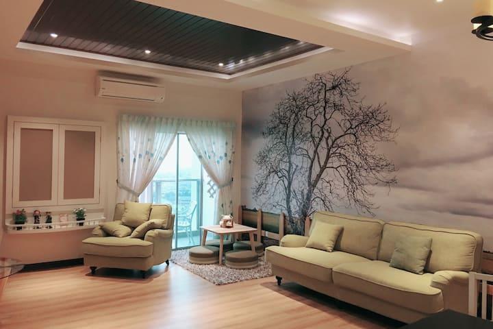 米樂坊頂層田园式高级公寓 - Pearl Rice Garden (cottage style)