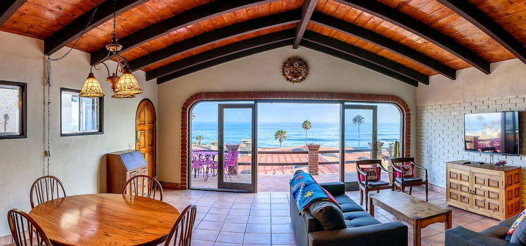 Modern Casita with Whitewater Views - Las Gaviotas - Rosarito - Haus