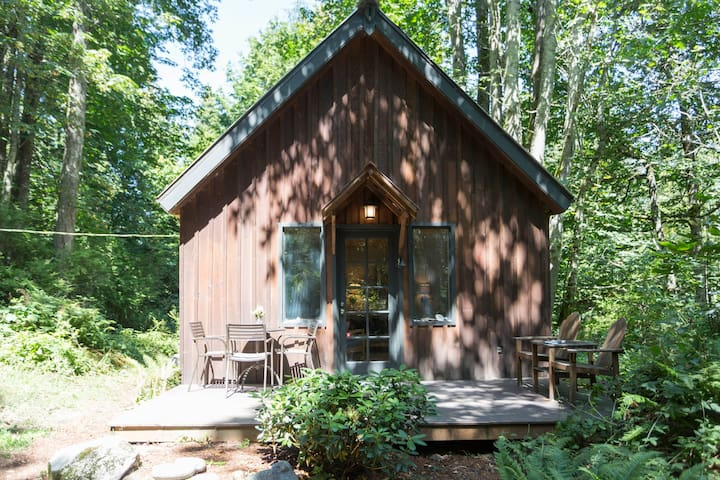 Forest Cabin + Private Beach - Camano Island - Srub