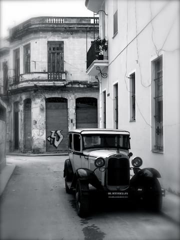 Your block in Old Havana!