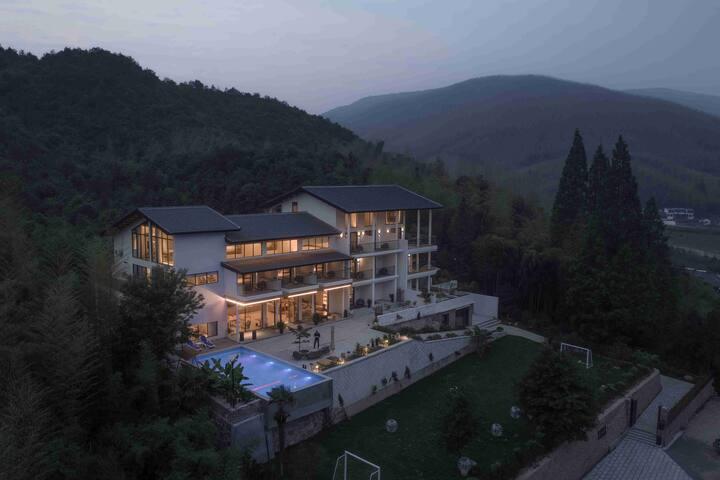 莫干山仁里·心泊莫干,近莫干山景区,带泳池,复式家庭套房,302更日迟