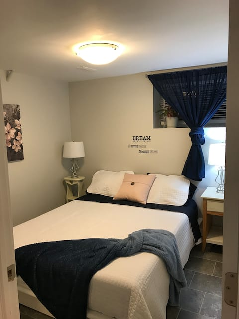 Moose Jaw Guest suite with separate entrance