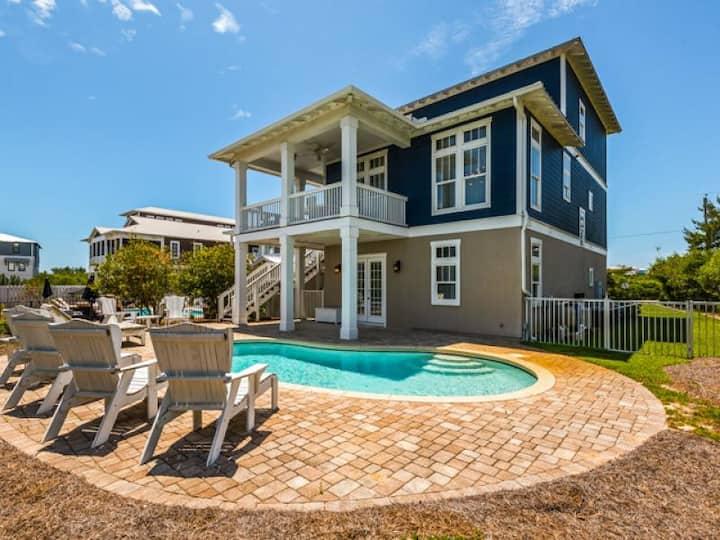 Deja Blue - Located in Seacrest Beach - Private Pool - Deja Blue
